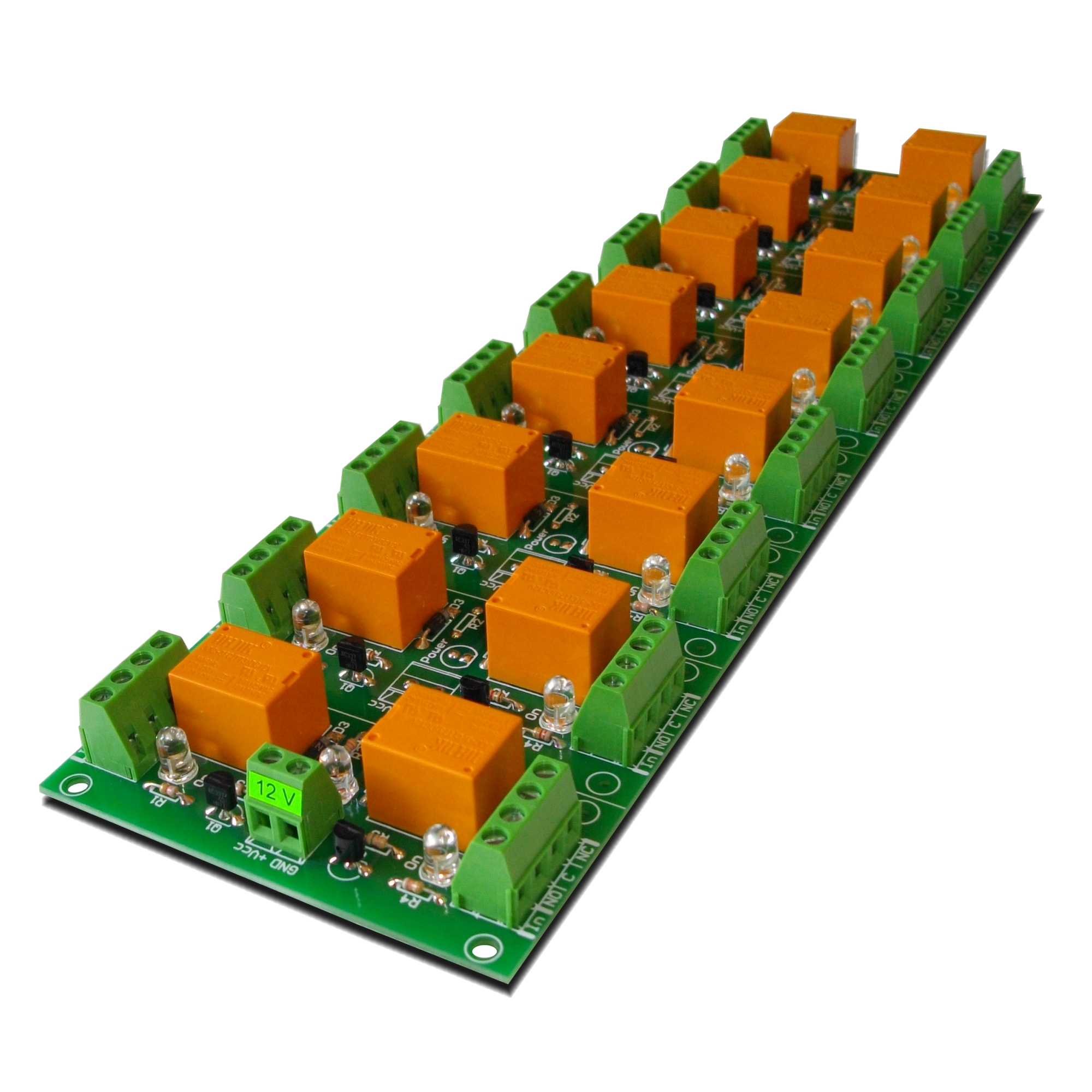 Ethernet  Relay JQCFCT Board For Home Automation SNMP - Spdt relay eagle