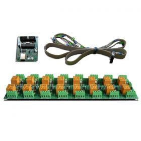 USB 16 Channel Relay Module - RS232 Controlled, 12V - ver.1