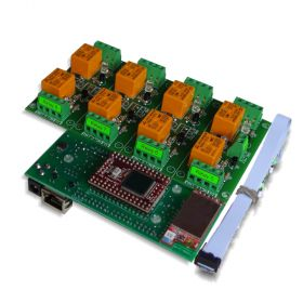 Wi-Fi IEEE 802.11 b/g Eight Channel Relay Board