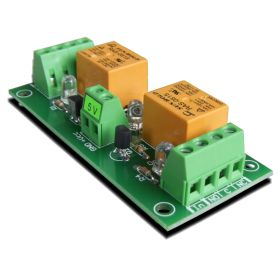 2 Relay Way Output Module (Board) for your PIC, AVR Project - 5V