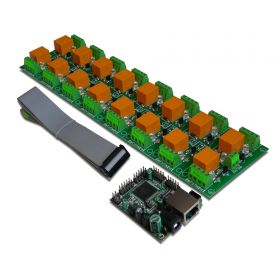 Internet/Ethernet Sixteen Channel Relay Board