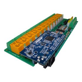 14 Relay Way Output Module (Board) for your PIC, AVR Project - 5V