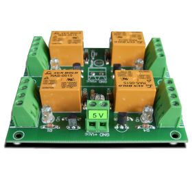 4 Relay Way Output Module (Board) for your PIC, AVR Project - 5V