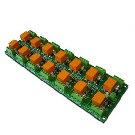 14 Relay Way Output Module (Board) for your PIC, AVR Project - 12V