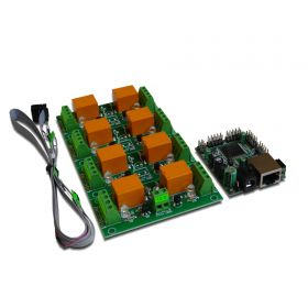Internet/Ethernet Eight Channel Relay Board - ver.2